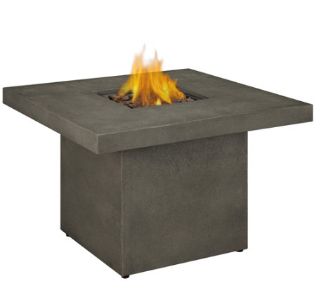 Real Flame Ventura Square Gas Fire Table
