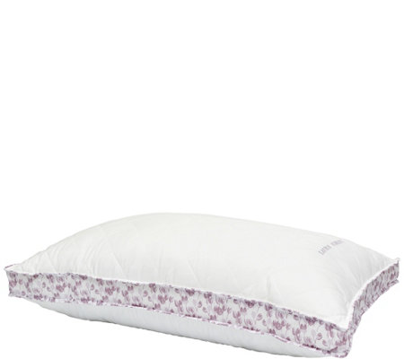 Laura Ashley Ava Purple Tulip Extra Firm King Pillow