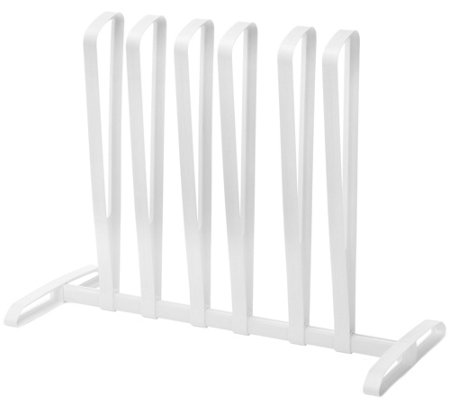 Whitmor 3 Pair White Boot Rack