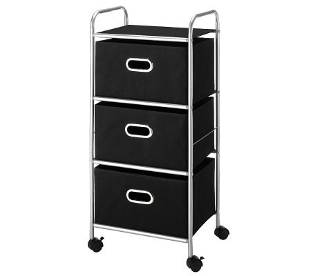Whitmor 3-Drawer Cart
