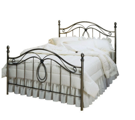 Hillsdale House Milano Full Bed - Antiqued Pewter Finish