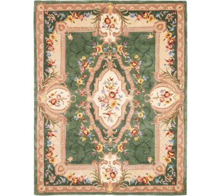 Royal Palace Special Edition Savonnerie 7' x 9' Wool Rug