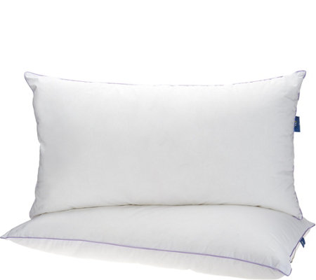 "Serta Set of 2 King 20"" x 36"" Bed Pillows"