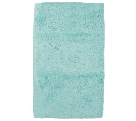 "Casa Zeta-Jones 100% Cotton 27"" x 45"" Cloud Bath Mat with Memory Foam"