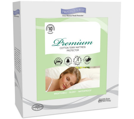 Protect-A-Bed Premium Full Mattress Protector
