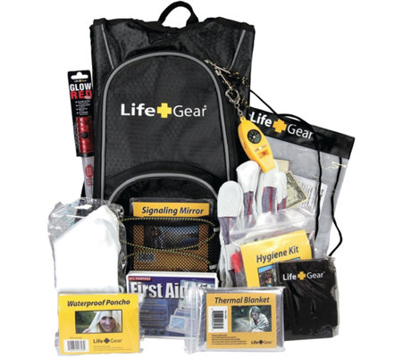 Life Gear Day Pack Emergency Survival BackpackKit
