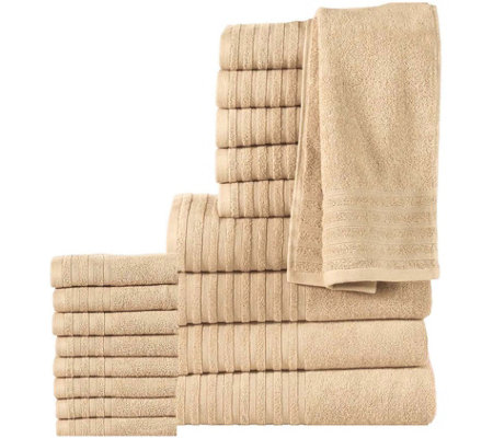 18-Piece Cotton Towel Set