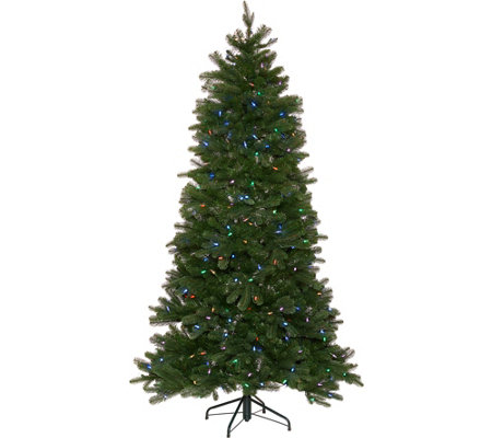 Santa's Best 6.5' Green 137 Function LED Smart Tree