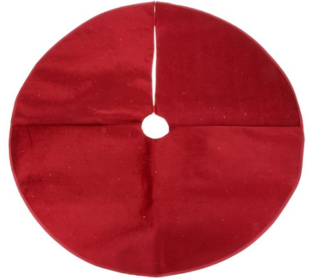 "36"" Round Illuminated and Twinkling Tree Skirt by Valerie"