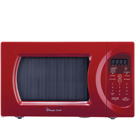 Magic Chef .9 Cubic Ft 900 Watt Microwave w/ Digital Touch