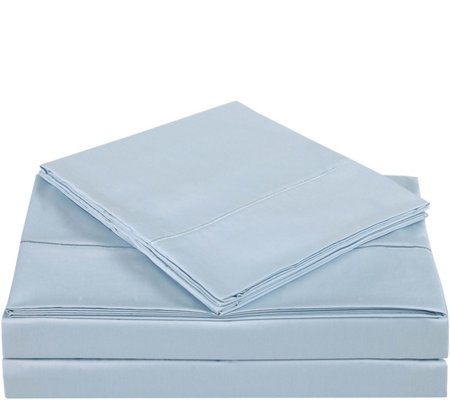 Charisma 310TC Solid Cotton King Pillowcase Pair