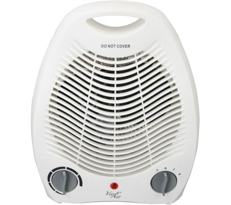Vie Air 1500W Portable 2-Settings White OfficeHeater