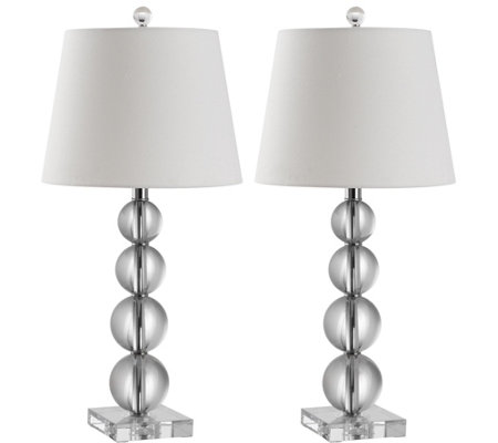 Safavieh Set of 2 Millie Crystal Table Lamp