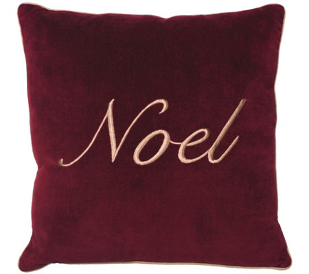 Noel Collection Pillow by Vickerman