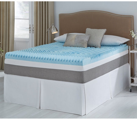 Comforpedic From Beautyrest 5 Zone 3 Gel Memory Foamtopperkng