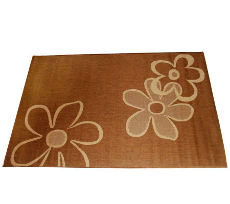 Daisy Outdoor 100% Polypropylene 8' x 11' WovenRug