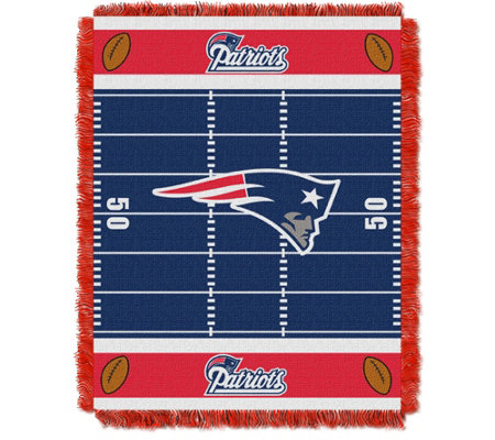 "NFL Woven Jacquard Throw Field 36"" x 46"""
