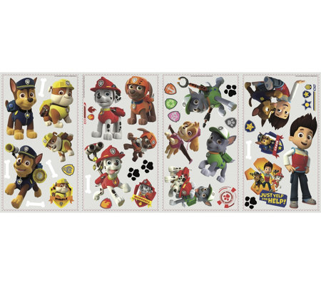RoomMates Paw Patrol Peel & Stick Wall Decals