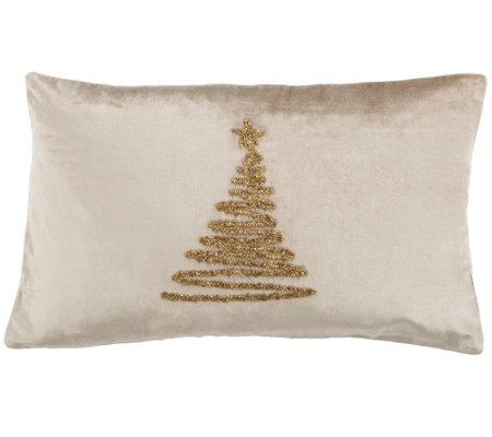 Safavieh Enchanted Evergreen 1 X 1 8 Pillow