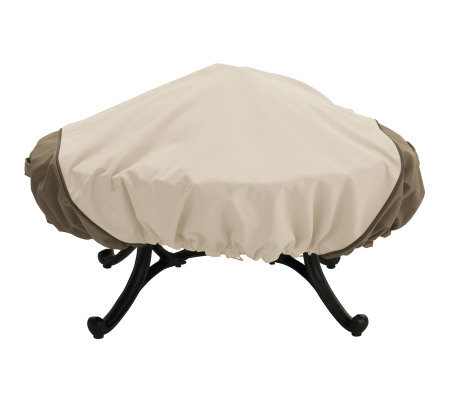 Veranda Round Fire Pit Cover by Classic Accessories