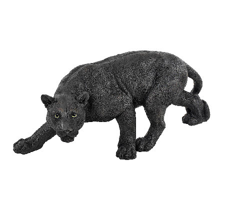 Design Toscano Shadow Predator Black Panther Garden Sculpture