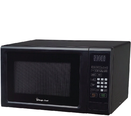 Magic Chef 1.1CF 1000W Microwave with Digital Touch - Black