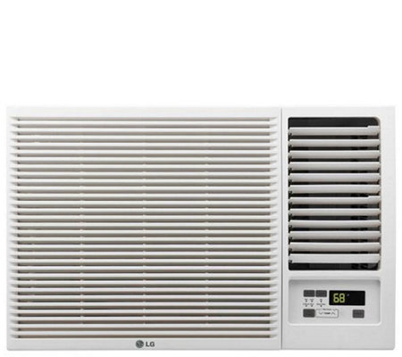 LG 12,000 BTU 230V Window-Mounted Air Conditioner with Heat