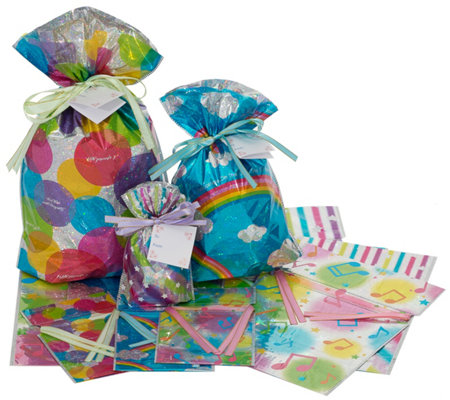 Kringle Express 24-Piece Hologram Printed PartySet