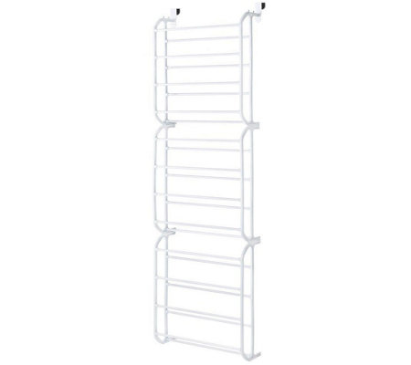Whitmor Over-the-Door 36-Pair Shoe Rack