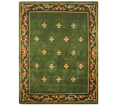 Royal Palace Special Edition 7'x9' Fleur de Lis Wool Rug