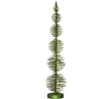 3-foot Bottlebrush Tree with Microlights by Valerie