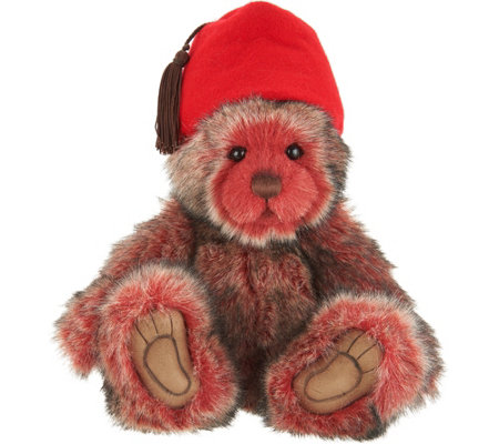 "Charlie Bears Collectible TC 13"" Colored Plush Bear"