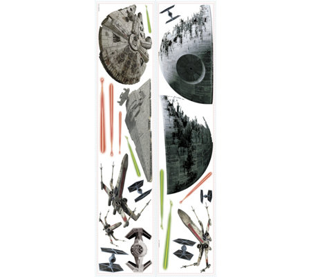 RoomMates Star Wars Spaceships Peel & Stick Wal l Decals