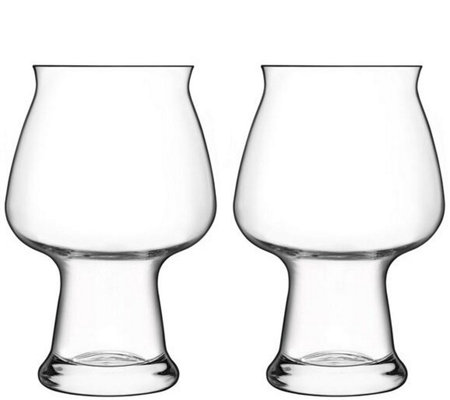 Luigi Bormioli Birrateque Set of Two 17-oz Cider Glasses