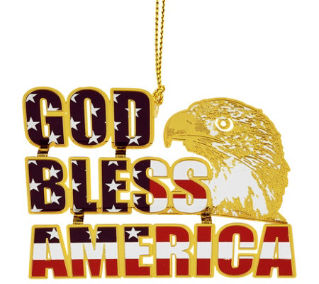 God Bless America Ornament By Beacon Design