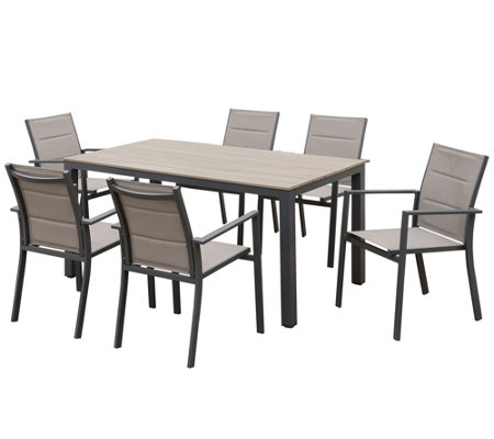Venetian Worldwide Dello 7 Piece Outdoor Patiodining Set