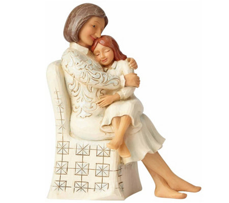 Jim Shore Woman Sitting With Child Figurine
