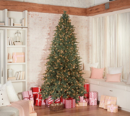 Bethlehem Lights 9' Incandescent Blue Spruce Christmas Tree