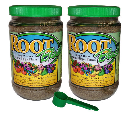 Rootblast Set of Two Growth Formula, 2.5-lb Jars