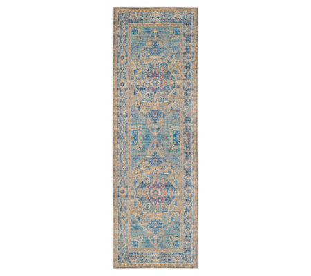 "Claremont Carrie 2'6"" x 7'9"" Rug by Valerie"