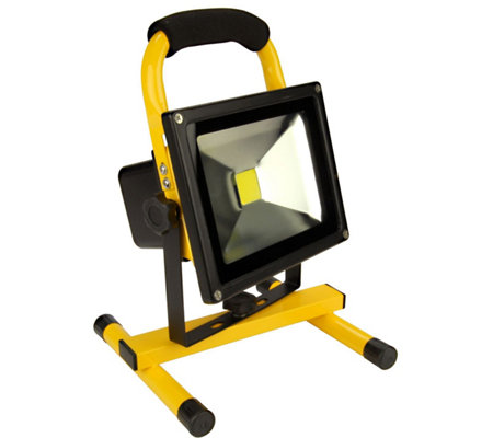 Wl20 Rechargeable Portable Led Work Light Qvc Com