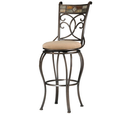 Hillsdale Furniture Pompei Swivel Bar Stool