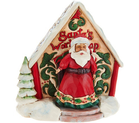 Jim Shore Heartwood Creek Mini Santa's Workshop Figurines