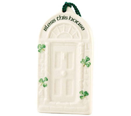 Belleek House Blessing Ornament