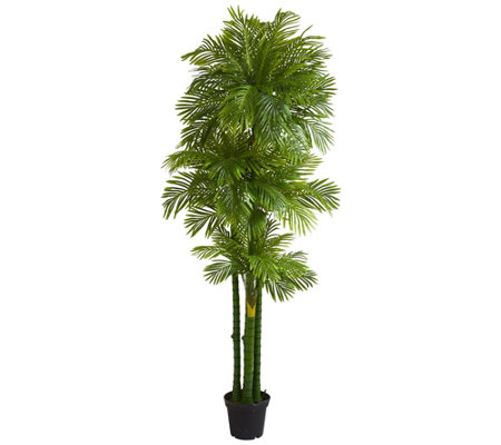 7 5 Artificial Phoenix Palm Tree By Nearly Natural