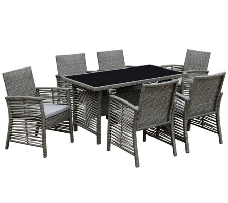 Venetian Worldwide Dinami 7 Piece Outdoor Patiodining Set
