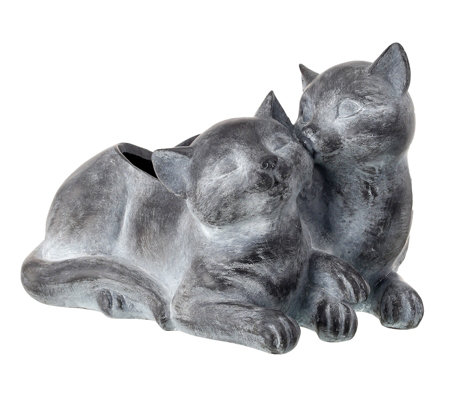 Kittens Planter - Polystone by Valerie