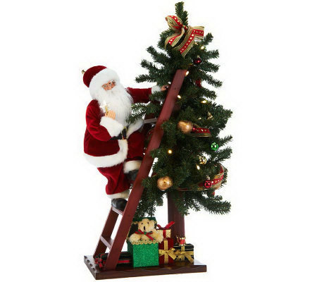 30 bethlehem lights battery operated santa lighting christmas tree