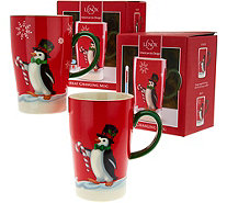 Lenox Porcelain Set of 2 Magic Mugs in Gift Boxes - H208997