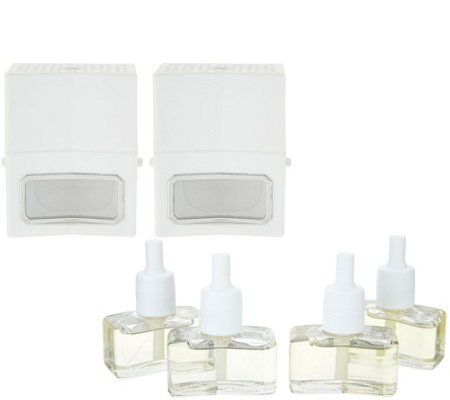 Homeworx By Harry Slatkin Set Of 2 Diffusers With 4 Refillables